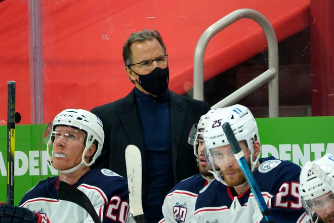 John Tortorella is being scrutinized again for benching players, including sharp-shooting forward Patrik Laine, in the late stages of Thursday's overtime loss to Florida.
