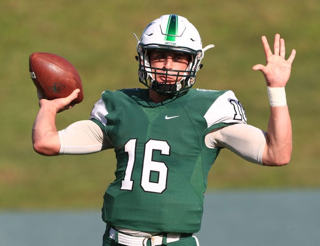 Quarterback Alex Piccirilli passed for 192 yards and ran for 74 as Stetson rallied before falling short Saturday against Davidson.
