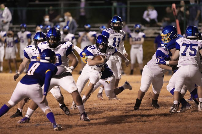Five Cherryville players earned all-conference honors.