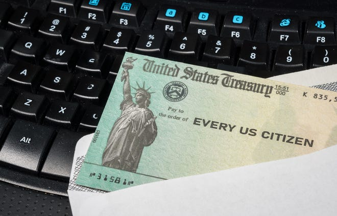 The US Treasury is beginning to send out the first batch of $1,400 stimulus payments this weekend.