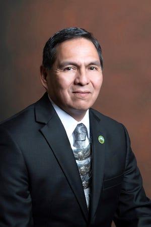 Creek Nation Principal Chief David Hill