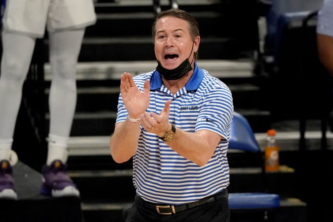 Saint Louis head coach Travis Ford only played 20 games due to COVID issues, but the Billikens went 14-6 are are hoping to make the NCAA field.
