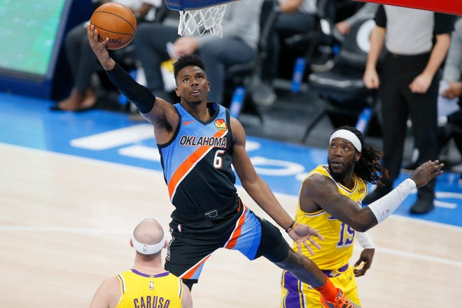 The Thunder traded guard Hamidou Diallo to the Pistons in exchange for forward Svi Mykhailiuk and a 2027 second-round pick.