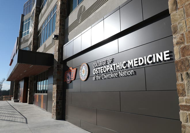 Oklahoma State University College of Osteopathic Medicine at the Cherokee Nation in Tahlequah.