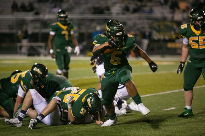 Asher Cunningham dominated on defense and had timely contributions on offense Friday.
