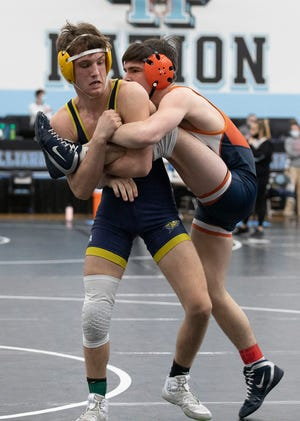 Lancaster senior Jacob Reed secured All-Ohio honors during Saturday's Division I state wrestling tournament, held at Hilliard Darby High School.