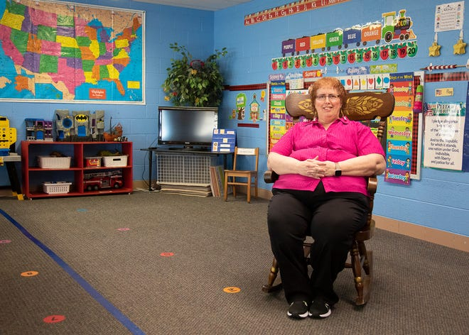 Debbie Rossman is the director of the Walnut Street Children's School in Chillicothe.