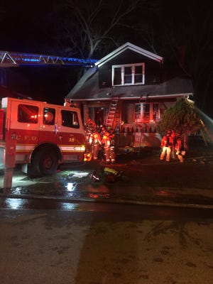 A woman has died and a 13-year-old boy was taken to Cincinnati Childrens Medical Center for smoke inhalation following a fire in the 1900 block of Baltimore Avenue March 12, 2021.