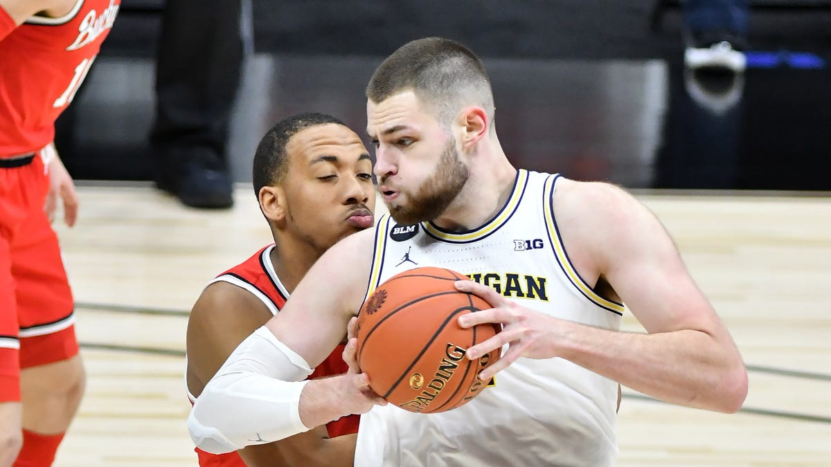 Niyo: Though dinged, No. 1-seed Michigan enters tournament imbued with confidence 2