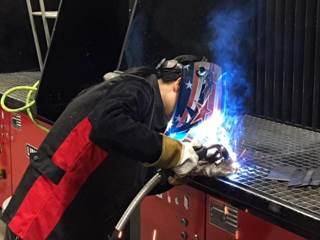 Karen Feliciano worked as a welder from 2008 until she became a full-time welding instructor at Waukesha County Technical College in 2015. She is the only female welding instructor at WCTC, and she is encouraging more women to consider welding as a career.