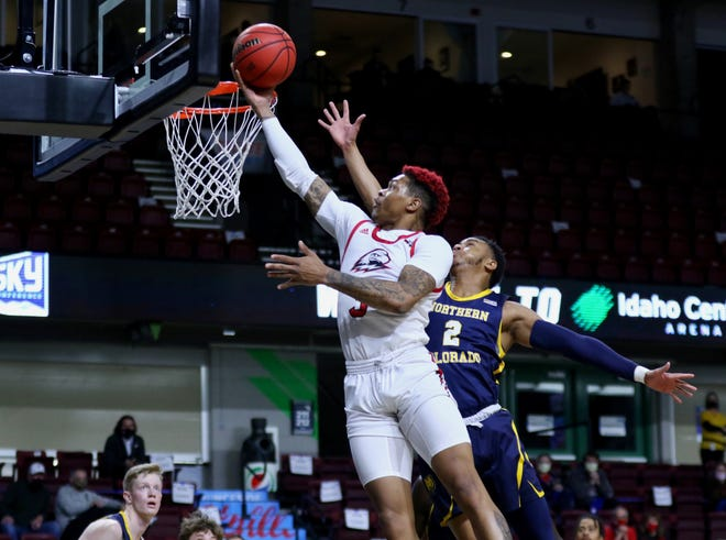 John Knight III and SUU bowed out of the Big Sky Tournament in the semifinals.