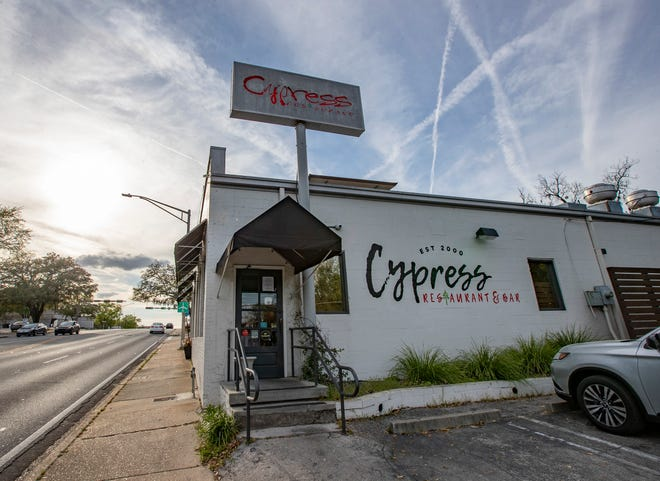Cypress Restaurant and Bar located on Tennessee Street.