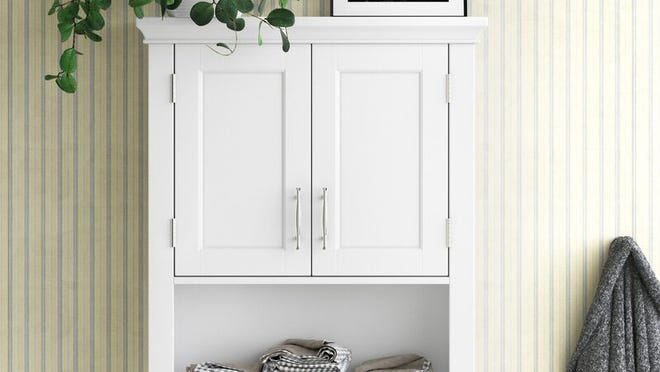 Keep your bathroom neat and tidy with these storage solutions.