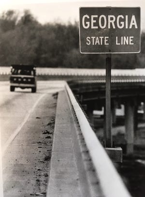 It took awhile, but a replacement bridge finally opened over the Savannah River at the old sand bar in 1968.