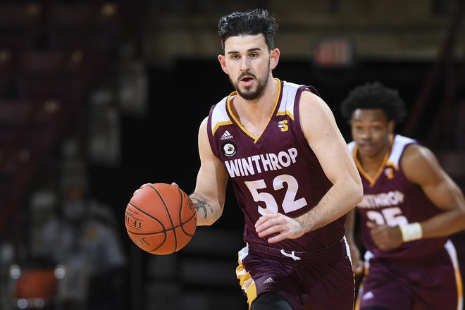 Winthrop senior point guard Chandler Vaudrin had the most triple-doubles in the nation this season with three.
