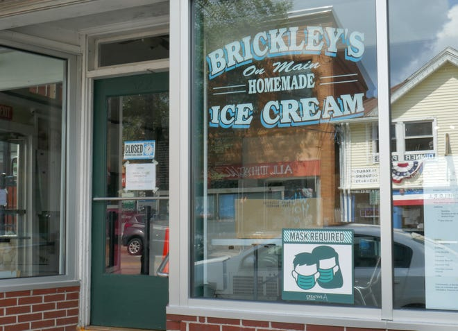 Brickley's Ice Cream in the South Kingstown village of Wakefield will reopen for the season on March 18.