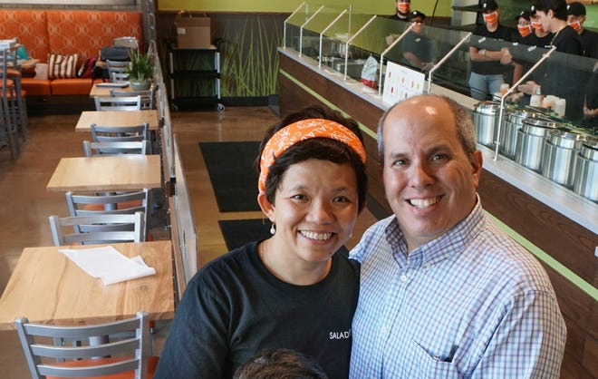 Last year, Saladworks owners Aileen Soriano Pisaturo and John Pisaturo were set to open March 25 but didn't until June 17