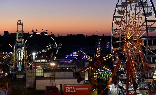 The Sarasota County Fair opens Friday with Belle City Amusements back with its spectacular rides.