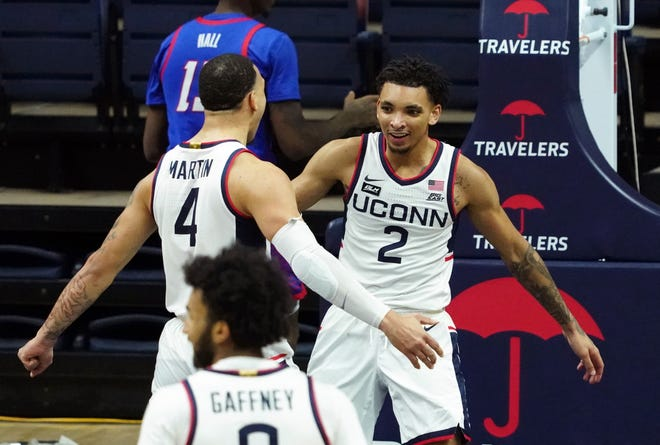 UConn has been seeded No. 7 in the East Region of the NCAA Tournament. First game for the Huskies is against No. 10 seed Maryland.