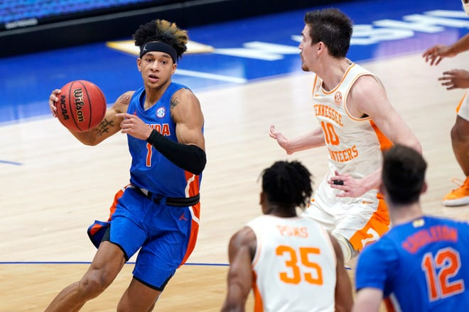 Sophomore point guard Tre Mann leads the Gators and is an All-SEC first-team selection.