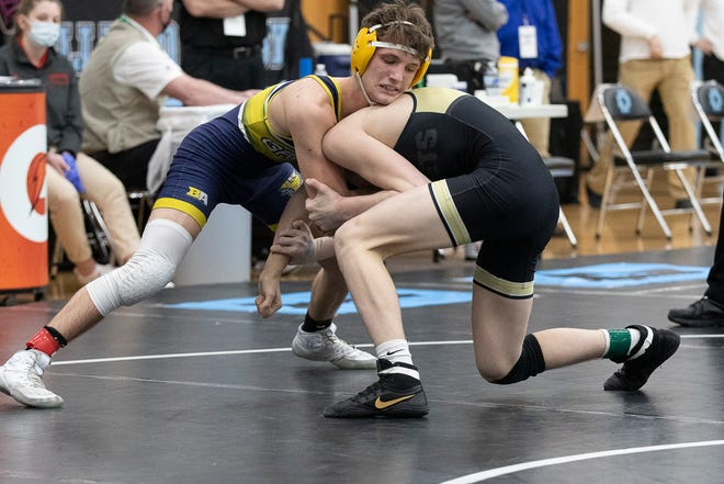 Lancaster senior Jacob Reed placed fourth in the 138-weight class at the Division I state wrestling tournament on Sunday at Hilliard Darby High School. Reed finished the season with a 33-3 record.