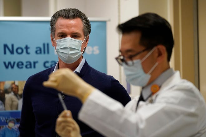 Gubernur California Gavin Newsom