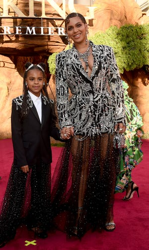 Beyonce dan putrinya Blue Ivy Carter