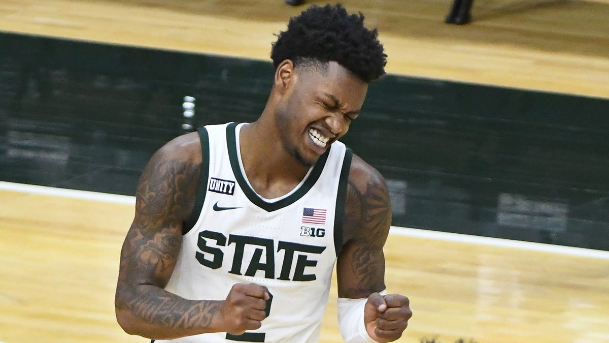 Rocket Watts transferring from Michigan State to Mississippi State 1