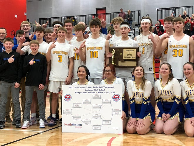 The Scobey boys' basketball team defeated Twin Bridges for the Class C championship Saturday in Lockwood.