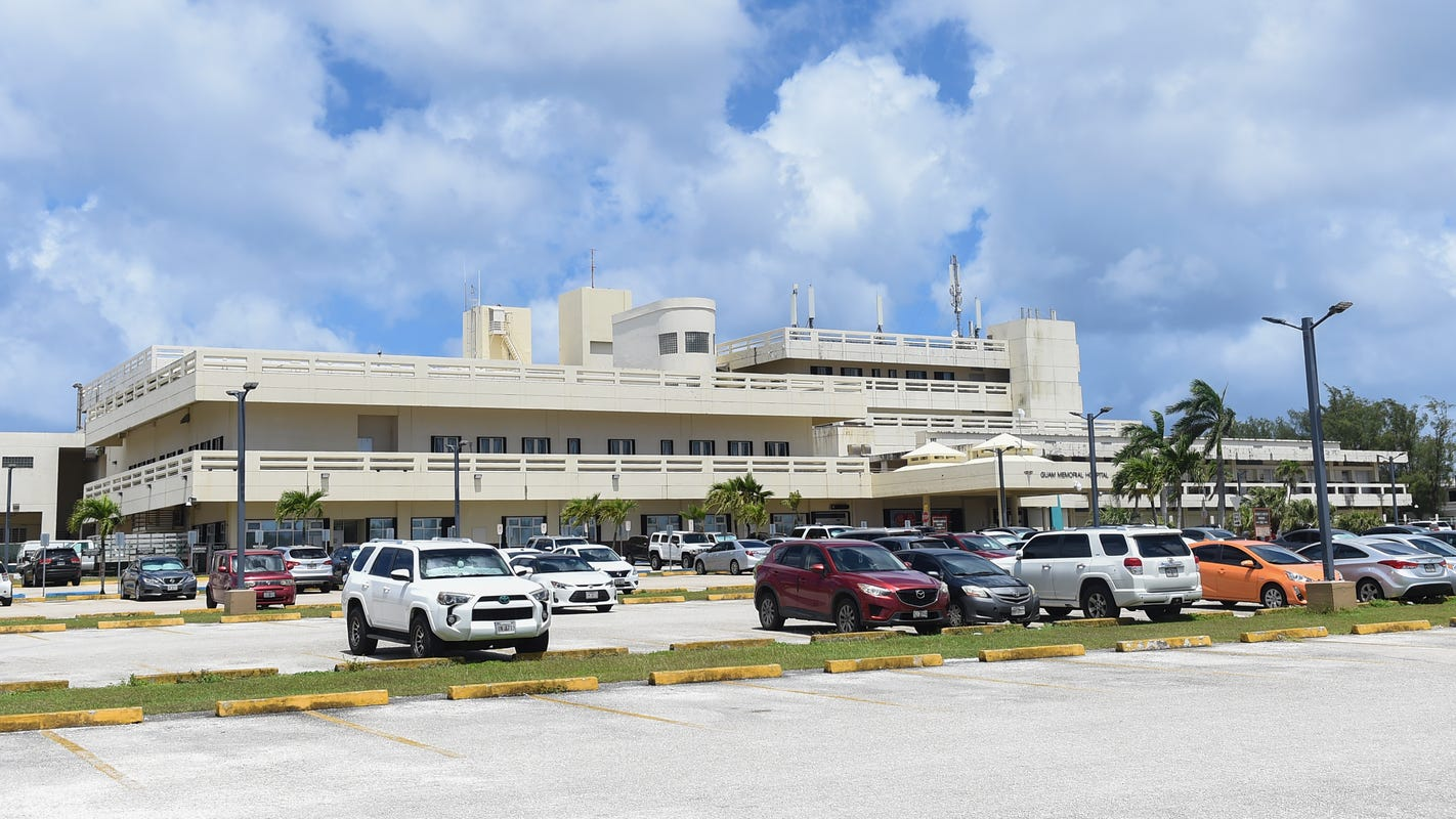 Guam's COVID-19 hospital rate drops, was at zero for several days