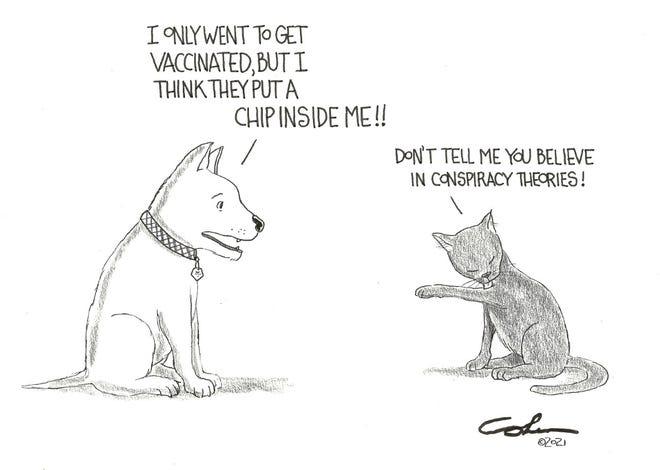 Cartoon by David Cohen
