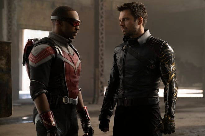 """Anthony Mackie and Sebastian Stan star in Marvel Studios' """"The Falcon and the Winter Soldier."""""""