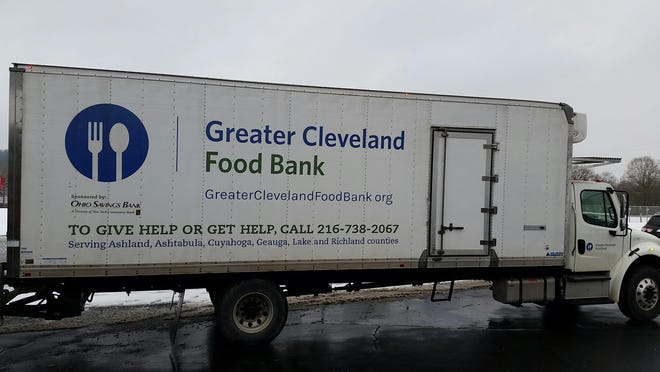 The Cleveland Food Bank will sponsor a mobile food pantry Friday, March 19 at the Loudonville High School field house parking lot.