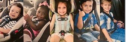Motor vehicle crashes are the number one killer of children, learn to use your seat correctly.