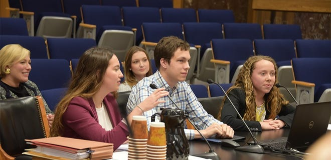 The Legislative Youth Advisory Council (LYAC) is a body created by state law which is composed entirely of high school students with an interest in representing the voices of young people across the state.