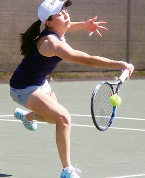 Erin Epperson captured the girls No. 1 singles title as a Bartlesville High junior and took her game to Creighton University, where she has carved out more court success.
