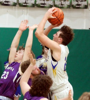 Despite a nagging injury, senior forward Hunter Stockwell of Mendon: Northwestern High School has been voted the Carroll-Livingston Activity Association's boys' basketball most valuable player for the recent 2020-21 season.