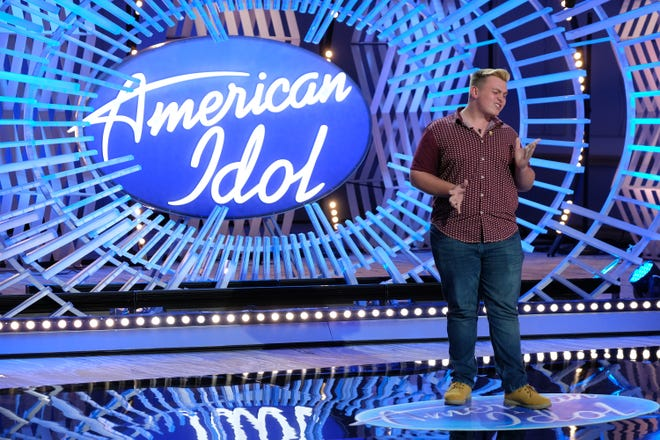 """Tryzdin Grubbs of Columbus made it through the auditions for """"American Idol"""" on Sunday."""