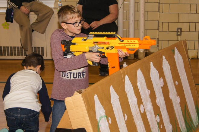 The Leesburg Recreation Department will host a Mother/Son NERF War from 10:30 a.m. to 1 p.m. on Saturday.