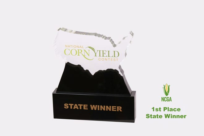 Henry G. Everman of Dansvilleplaced first in the state in the A:Conventional Non‐Irrigated Class.