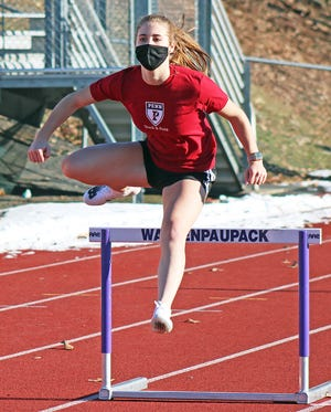 Anastasia Ioppolo is an odds-on favorite to bolster the Buckhorns this spring. The Wallenpaupack Area junior returns to defend four gold medals earned as a freshman and hopefully to break some more records as well.