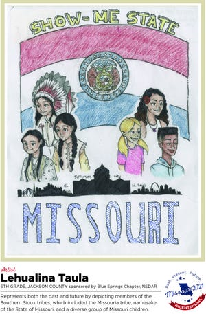 Lehualina Taula is one of four finalists in the statewide Missouri Bicentennial Poster contest.