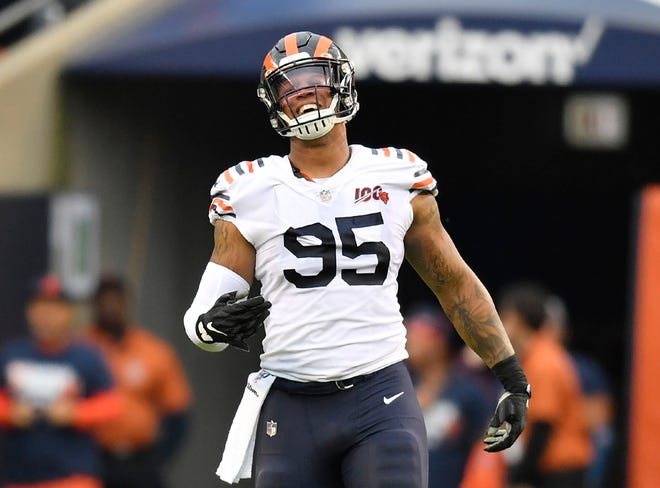 The Jaguars reportedly agreed to sign defensive end Roy Robertson-Harris, formerly of the Chicago Bears.