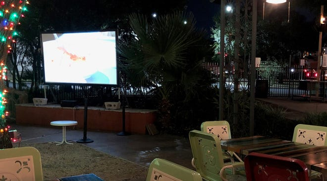 St. Johns Town Center restaurant Ida Claire has resumed its Movie Night on the Patio at 8 p.m. each Thursday. The event features a classic movie paired with a special cocktail.