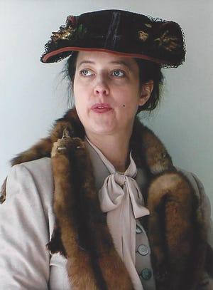 Eleanor Roosevelt portrayed by Leslie Goddard
