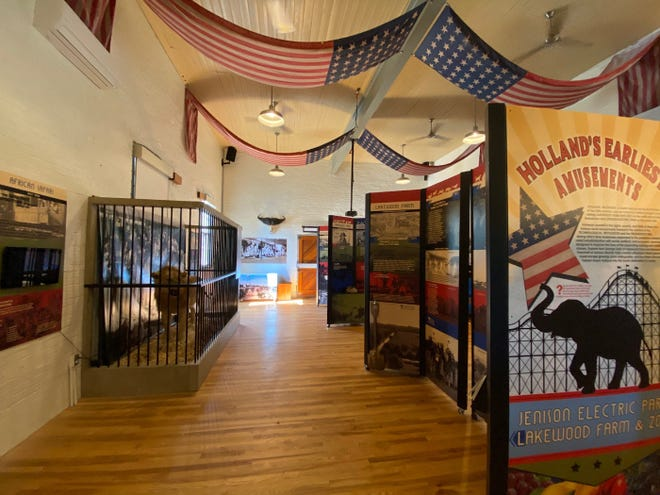 The Pump House Museum in Park Township currently features an exhibit on Holland's earliest amusements, including Jenison Electric Park and Lakewood Farm and Zoo.