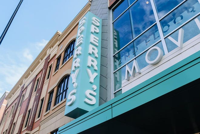 Sperry's Moviehouse at 84 W. Eighth St. will reopen to the general public Friday, April 2. The entertainment venue will require masks unless patrons are eating or drinking. Concessions will be available.