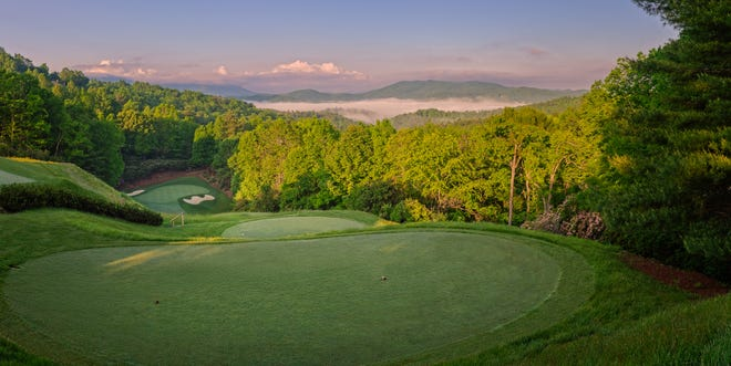 Champion Hills offers mountain views throughout its Tom Fazio-designed golf course.