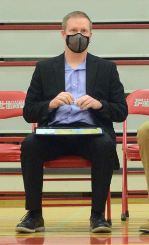Bethel College men's basketball coach Jayson Artaz was named the KCAC coach of the year for the 2020-21 season, leading the Threshers to the KCAC regular season and post-season tournament title.