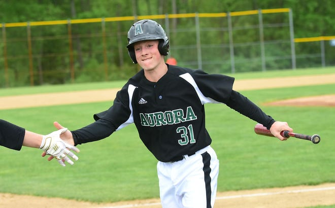 Aurora junior Chase Gerbrick hit .303 with 20 RBI and seven extra base hits in 2019. He will play shortstop and is a Lipscomb University commit.